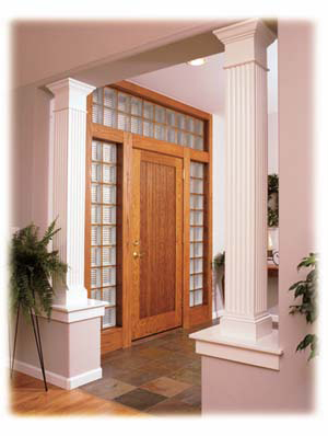 Beautiful Entry Sidelights Provide More Privacy and Security